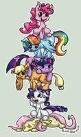 Stack of Ponies