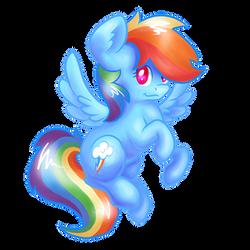 Rainbow Pone by BubblyBlackbird