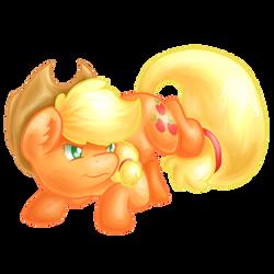 Apple Pone by BubblyBlackbird