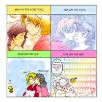 APH: a cute kiss meme by Utentsu