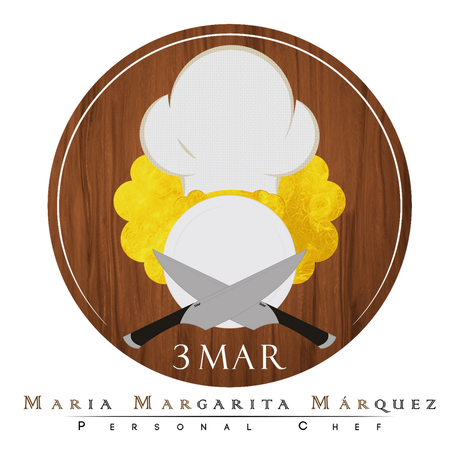 3Mar - Personal Chef Logo by Designs-CD