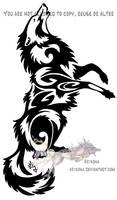 Howling tribal