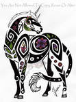 Tribal Flower Unicorn
