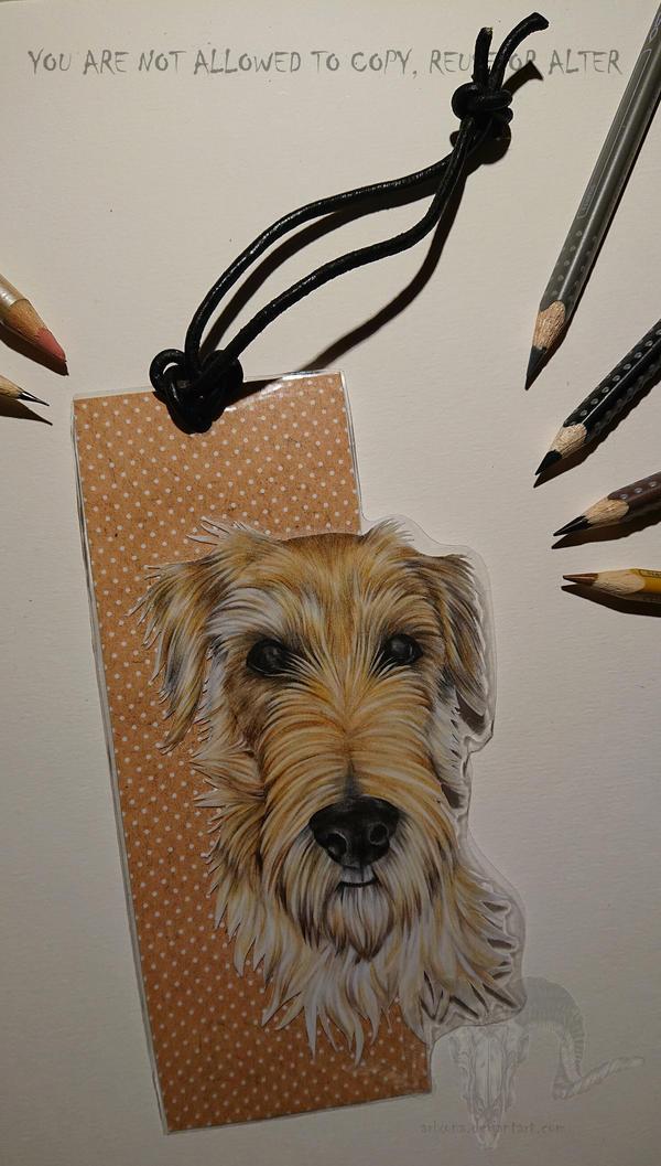Irish Terrier Bookmark GIFT