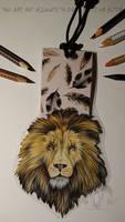 Lion Bookmark