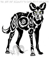 African Wilddog Tribal
