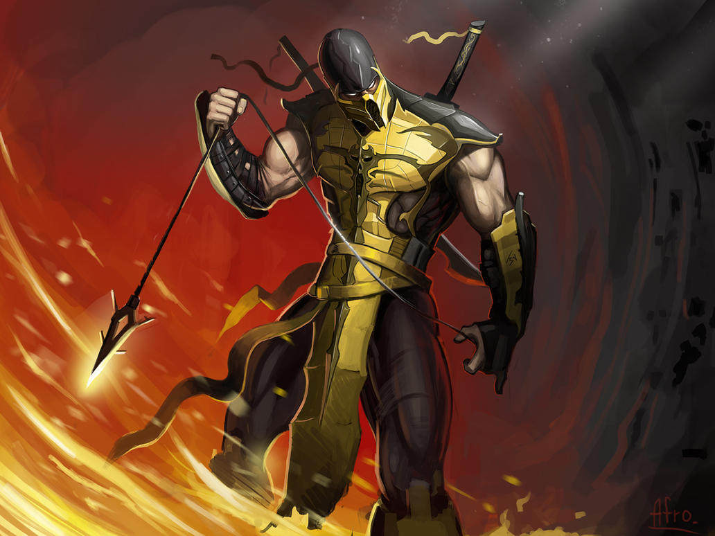 58 Killer Mortal Kombat Fan Art Pieces By Danlev On DeviantArt