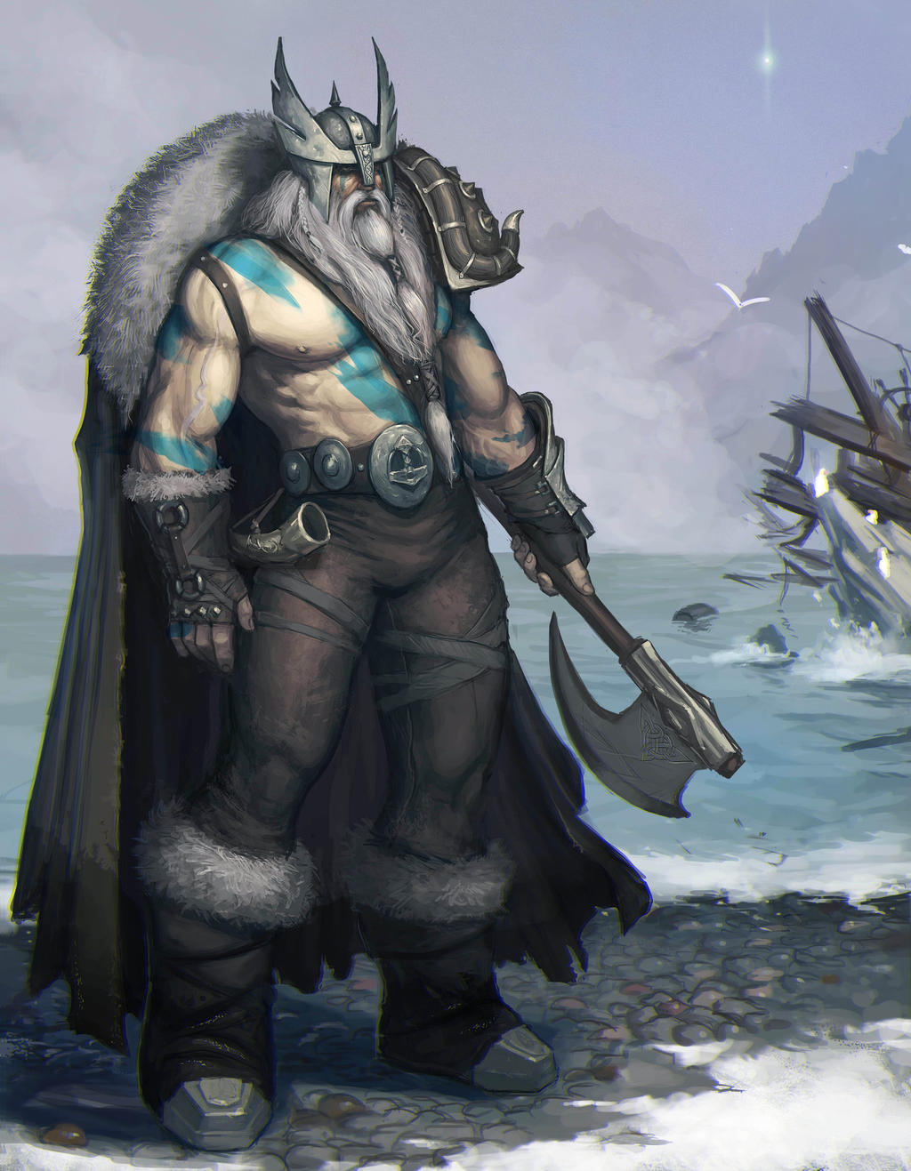 Viking by AlekseyBayura on DeviantArt