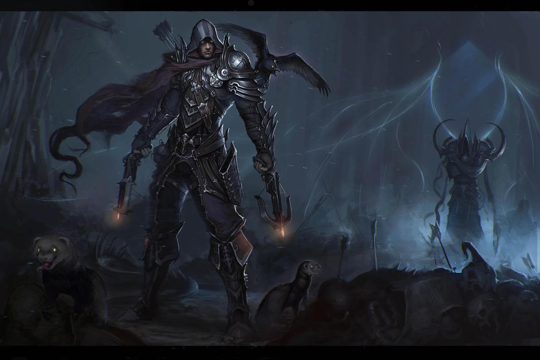 Demon Hunter - Diablo 3 by Afrocream