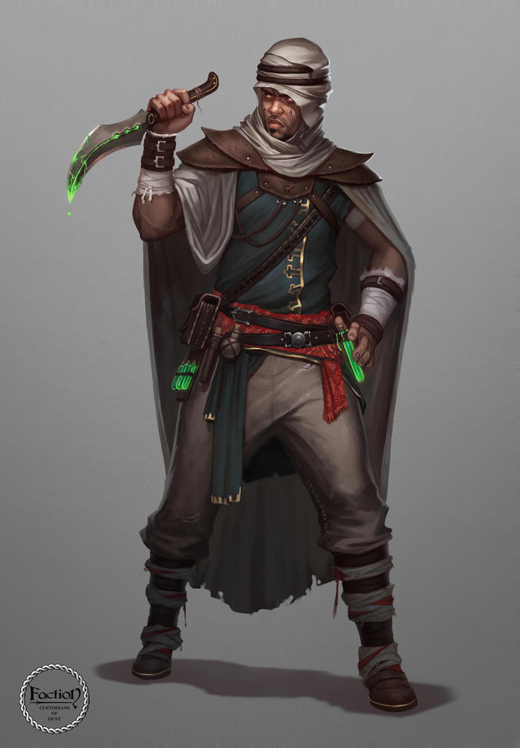The Black Hand Assassin by AlekseyBayura