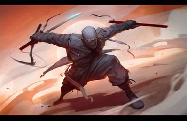 Sketch Ninja1 by AlekseyBayura