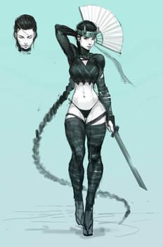 Shinobi Girl 1