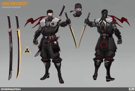 Genji Skin Concept 1
