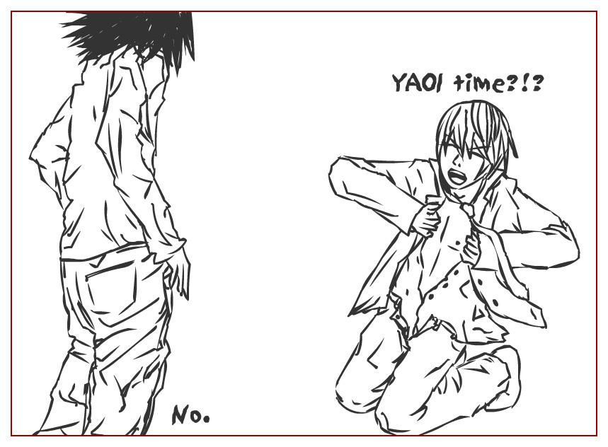 Death Note Yaoi Porn Gallery - CartoonBoner