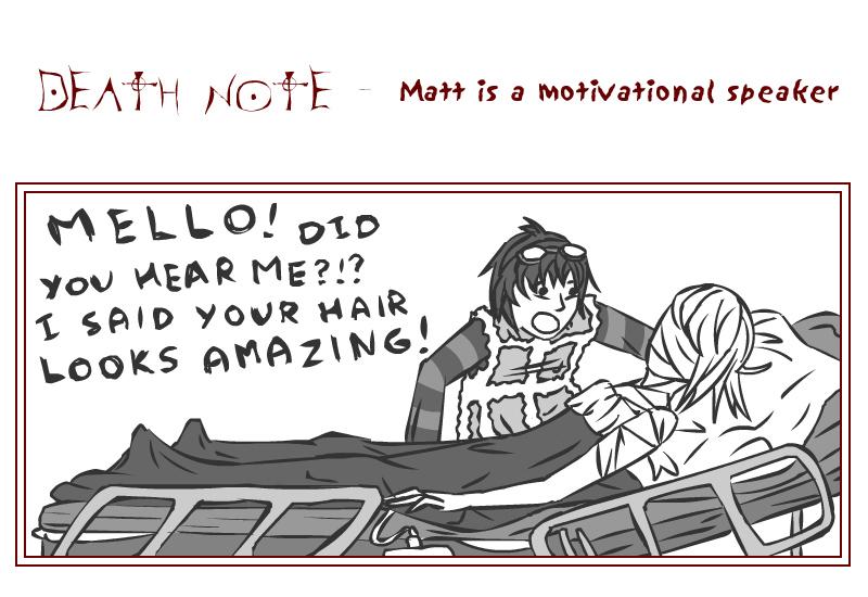 251 : Death Note : Matt Speaks by witegots