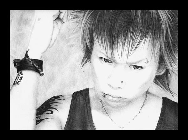 Dir En Grey : Kyo by witegots