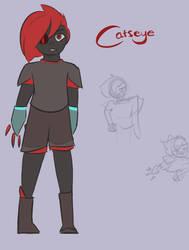 STEVEN UNIVERSE | Catseye [Ref. Sheet] by Tiggsygoo