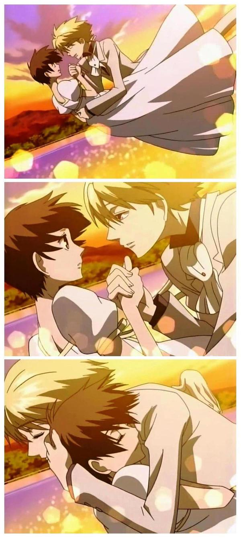 Haruhi and Tamaki by Suzuka-B