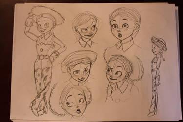 sketch jessie