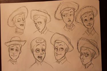 woody sketch