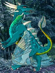 Dragon colored