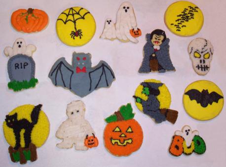 Halloween Cookies 2007 by Saiyan-Silk