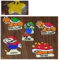 Mario Cookies by Saiyan-Silk