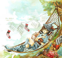 The writer_sleeping in noon by depinz