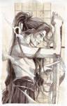 sword'wo'man by depinz