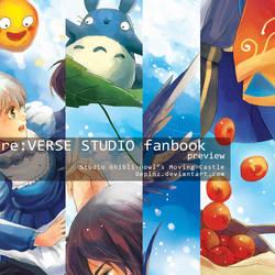 art guest : Ghibli Fanbook Illustrations prev
