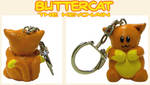 Buttercat Keychain
