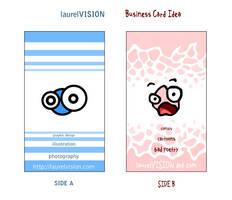 laurelVISION BusinessCard Idea by GlowingMember