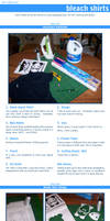 Tutorial: Making Bleach Shirts by GlowingMember