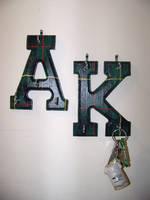 Painted Keyhangers