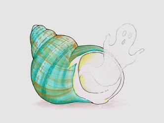 Ghost in a Shell by GlowingMember
