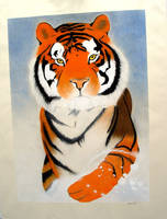 Tiger - Large by GlowingMember