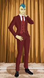 Redraw: Phil in Fancy Dress, colour