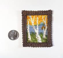 MiniPainting: Birches