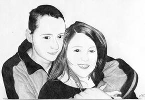 Courtney and Sheldon by GlowingMember