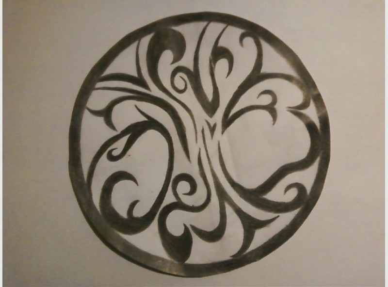 Tribal Tree Of Life: Tribal Tree Of Life Tattoo By LaDyPaNtHeR50140 On DeviantArt