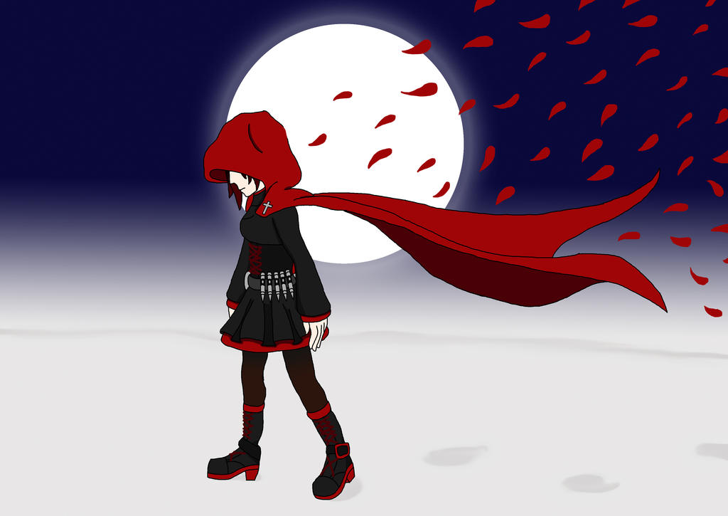 Ruby Rose R W B Y 1 Mod Preview: Red Like Roses By Steel--The--Gamer On DeviantART