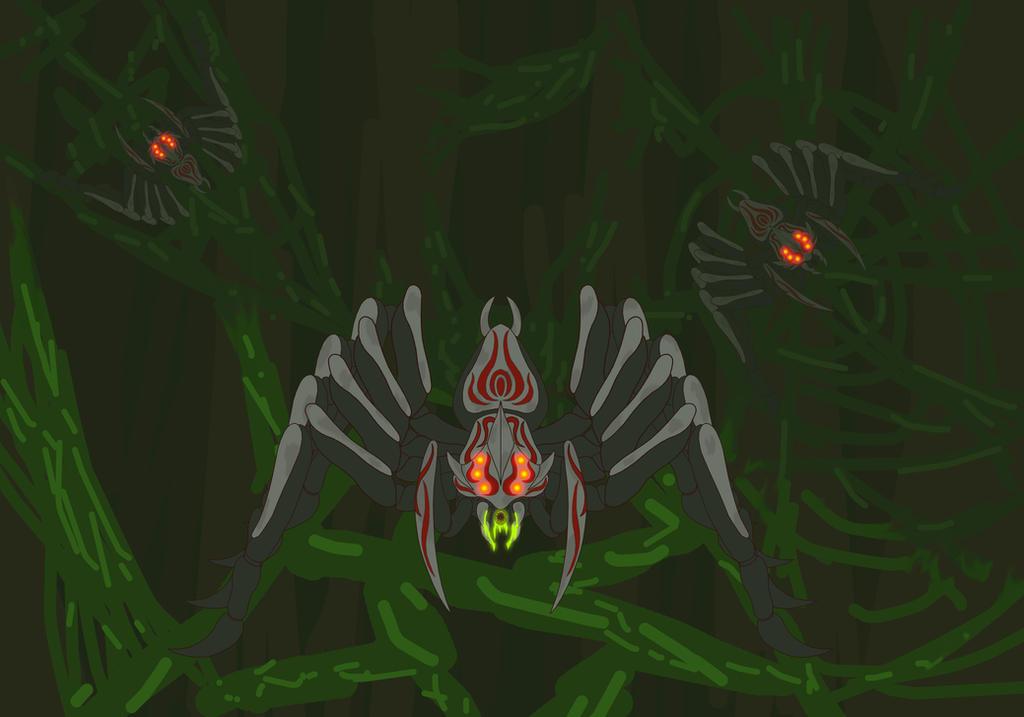 RWBY Grimm OC - Life-stealer by Steel--The--Gamer on DeviantArt