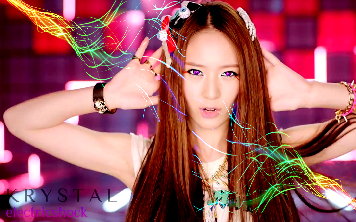 f(x) Krystal Electric Shock Wallpaper by Awesmatasticaly ... F(x) Electric Shock Krystal