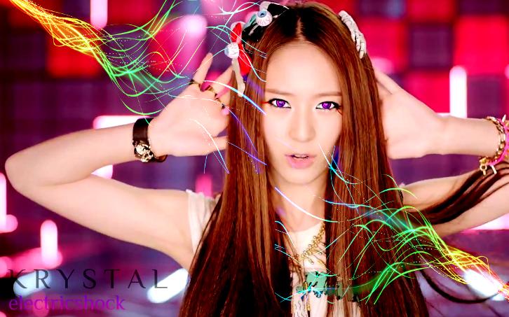 f(x) Krystal Electric Shock Wallpaper by Awesmatasticaly ... F(x) Electric Shock Krystal