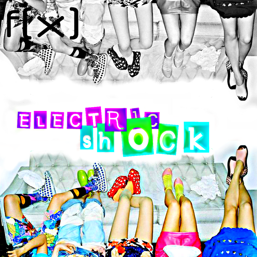 fx: Electric Shock 2 by Awesmatasticaly-Cool on DeviantArt F(x) Electric Shock Album Cover