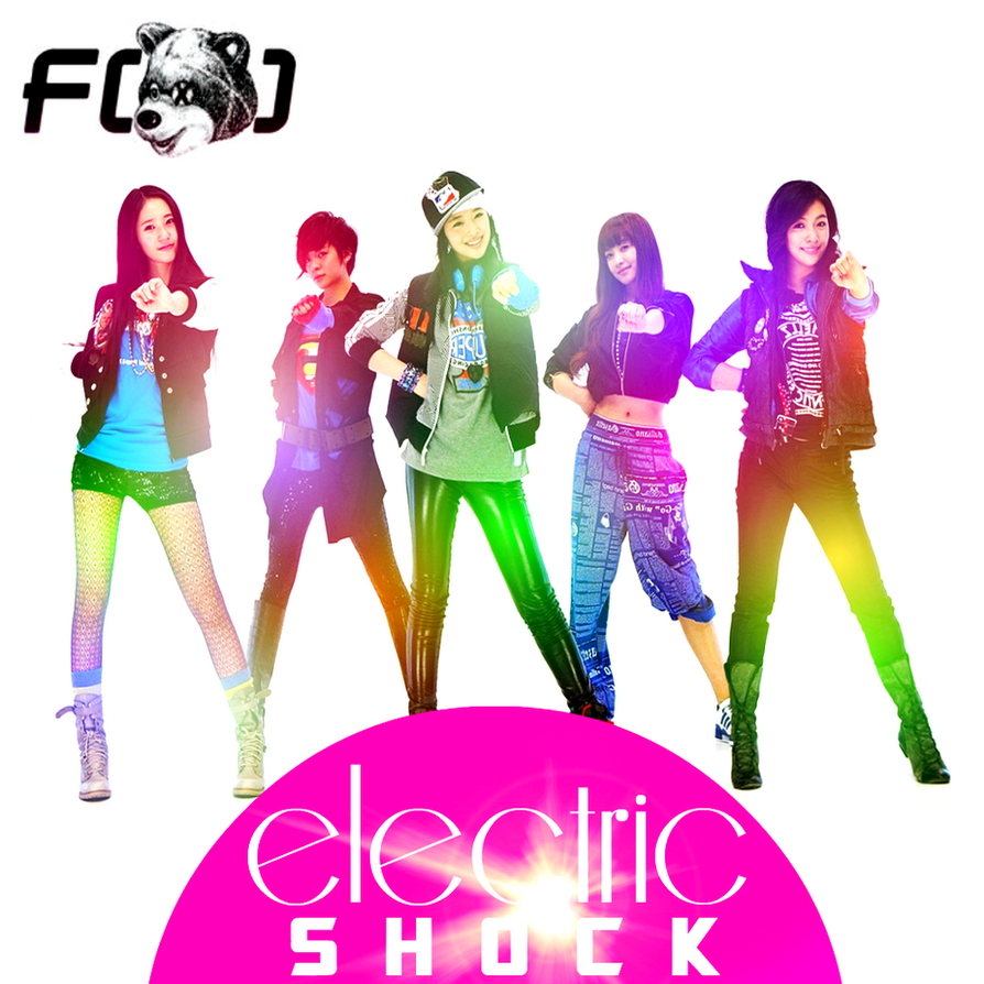 fx: Electric Shock 3 by Awesmatasticaly-Cool on DeviantArt F(x) Electric Shock Album Cover