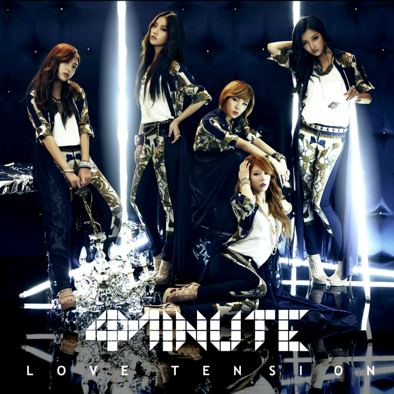 Love Tension Lyrics & Tabs by 4Minute - LyricsOchordS