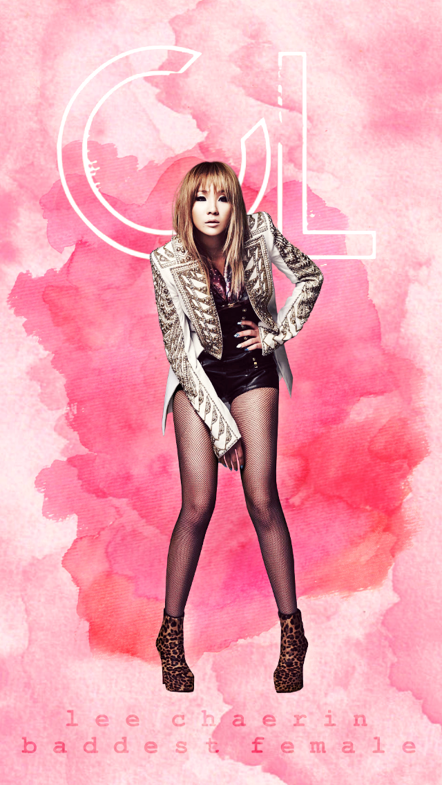 2NE1 CL IPOD WALLPAPER By Awesmatasticaly Cool