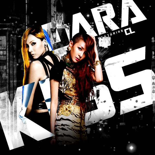 2NE1 (Sandara Park feat. CL) - Kiss