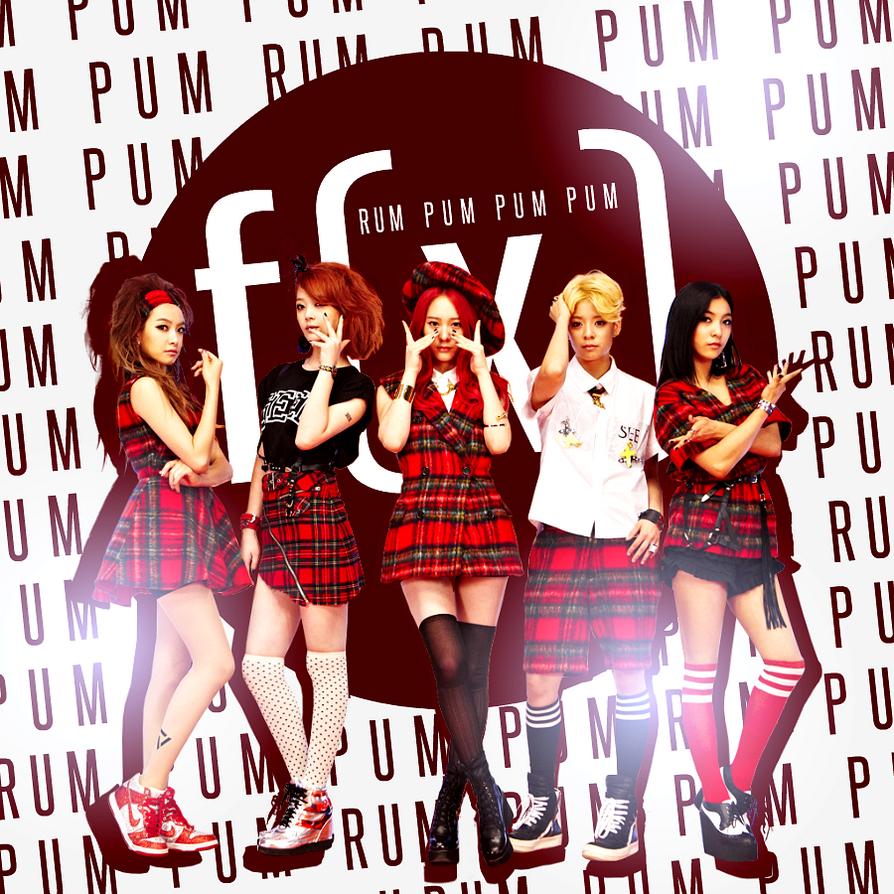 f(x): RUM PUM PUM PUM by Awesmatasticaly-Cool on DeviantArt F(x) Rum Pum Pum Pum Wallpaper